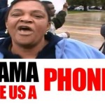 Obama Phone Lady