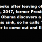 Hilarious : Obama Calls a Plumber