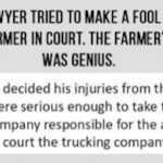 Humor : A Farmer's Funny Response To A Fancy Lawyer