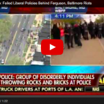 "Milwaukee Sheriff David Clarke ""Failed Liberal Policies"" Responsible For Baltimore"