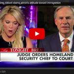 Texas Governor Slams Obama Administration For Violating Court Order On Amnesty