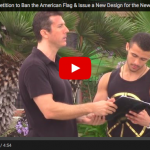 Video : Liberals Will Sign Anything – Liberals Sign Petition To Remove US Flag