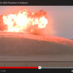 VIDEO : ISIS Militants Plant AN ISIS Flag In Kobani : US Military Uses Flag As A Target