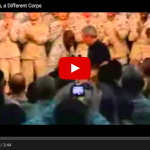 VIDEO: The Difference Between How Men And Women In Uniform Respond To Obama And Bush Is Pretty Telling