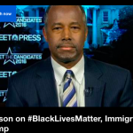 "Ben Carson Talks About ""Black Lives Matter"""