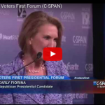 """Carly Fiorina : Clinton """"Lied"""" About Benghazi And Emails; """"These Go to the Core of Her Character"""""""