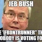 Jeb Bush's Big Money Donors Are Going To Hate These Poll Numbers