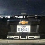 "Despite Atheist Bullies ""In God We Trust"" Police Decals Not Going Away According To Sheriff"
