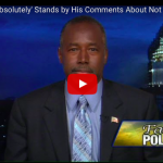 Ben Carson 'Absolutely' Stands by His Comments About Not Supporting a Muslim President That Supports Shariah Law