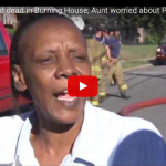"""VIDEO: The Aunt of 2 Children Who Were Left Alone And Died in House Fire Has """"No Regrets"""" And More Worried About Her Missing Food Stamps"""
