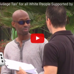 """[Video] When Asked, Hillary Clinton Supporters Are Excited To Implement A Very Racist """"White People"""" Tax"""