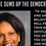 Condi Rice Perfectly Describes The Democratic Party In Just 75 Words
