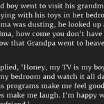 A 5-Year-Old Asked Grandma Why She Doesn't Have A Boyfriend, What Happens Next Was Pure Gold