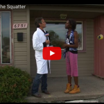 Hilarious Video : Squatting On The Squatter