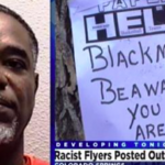 This Guy Really Wanted To Play Victim : Black Man Caught For Posting KKK Hate Signs At Black Church