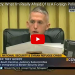 [VIDEO] Trey Gowdy Destroyed Obama For His Plan To Bring In 1000's Of More Syrian Refugees