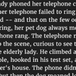 This Telephone Company Was Shocked When She Explained Her Problem. But The Reality Is Priceless.