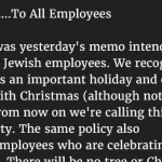 Hilarious : Why You Can't Have A Company Christmas Party In 2016 Due To The PC Police