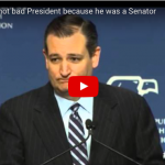 """[VIDEO] Cruz Lays Into Obama: Obama Is An """"Unmitigated Socialist Who Won't Stand Up And Defend"""""""