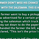 Hilarious : This Farmer Didn't Miss His Chance To Take Revenge With This Slick Salesman