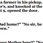 Hilarious : Neighbor's Son Got This Farmers Daughter Pregnant, No One Expected This When He Knocked On The Door